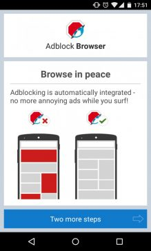 adblock browser for ads blocking
