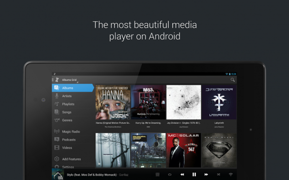 music player doubletwist