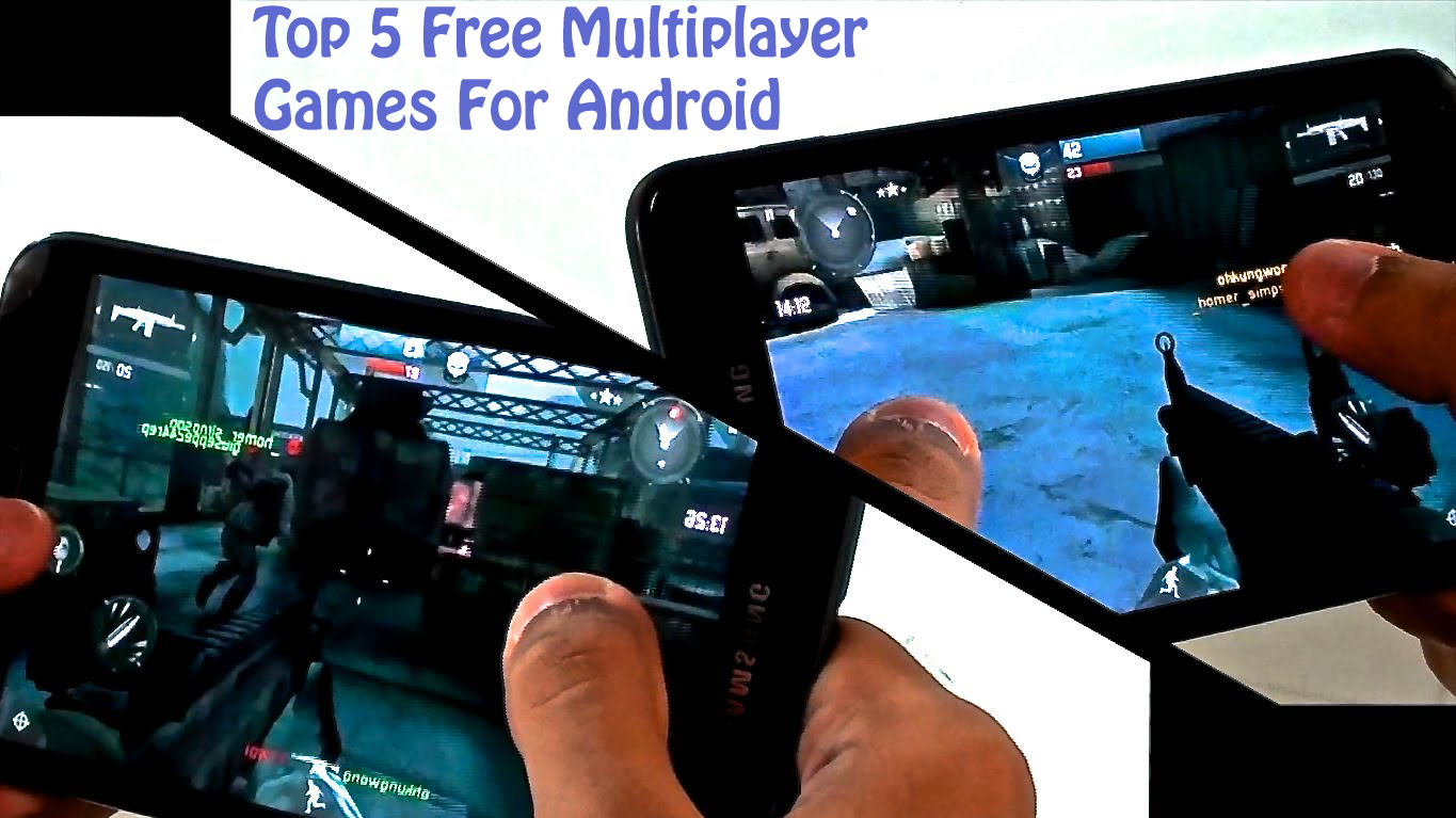 multiplayer games for android via bluetooth or wifi