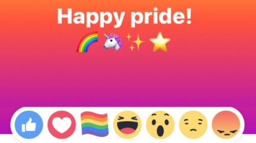 pride flag facebook