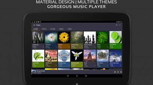 music player pulsar