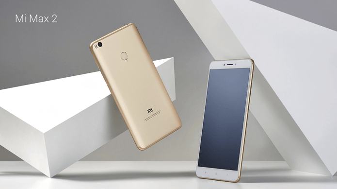 Mi max 2 launched