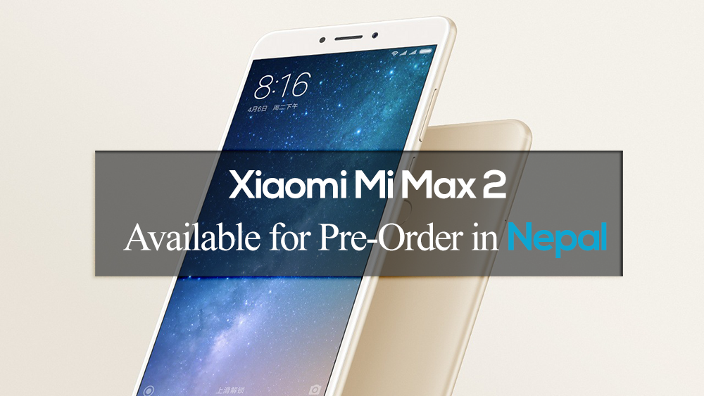 xiaomi mi max 2 launched in nepal