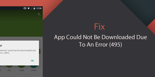 common android issues error downloading