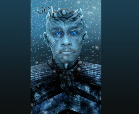 night king filter facebook