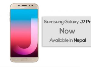 Samsung galaxy j7 pro nepal