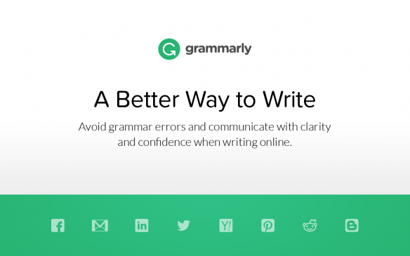 useful google chrome extension grammarly