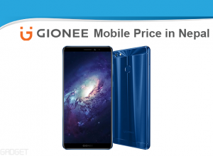 Gionee mobile price in Nepal