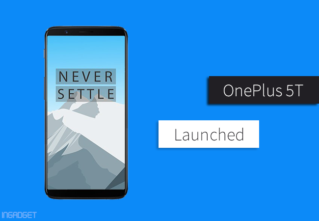 After months of rumor and speculation, OnePlus has finally taken the wraps off its new flagship phone OnePlus 5T at anevent held in New York. Obviously, this smartphone is an upgraded version of the OnePlus 5 which was released earlier this year. However, the smartphone doesn't come with such massive changes since it packs the same processor, storage options, battery size, and even display resolution. But we can clearly see some major changes to the design language and dual camera setup as well. Now, lets talk about them in brief. Related Stories: OnePlus Mobile Price in Nepal The OnePlus 5T comes in a sleek aluminum unibody design with 80.5% screen-to-body ratio and 18:9 aspect ratio givingan enhanced wider viewing experience. It features a stunning 6.01-inch Full HD+ Optic AMOLED display with sRGB and DCI-P3 color gamuts support. The display is protected by a 2.5D Curved Corning Gorilla Glass 5. The phone is powered by the same 2.45GHz Qualcomm Snapdragon 835 processor aided by 6GB/8GB RAM and 64GB/128GB UFS 2.1 storage. Battery size remains unchanged from the OnePlus 5 i.e. 3,300mAH but no worries, dash charge will save you from the low battery anxiety. On the software side, it still operates on Android 7.1.1 Nougat with OxygenOS 4.7 on top. As for the Oreo update, the company seems to be working on it and is expected to arrive within next couple months. Another obvious change is the placement of the fingerprint scanner whichis now placed on back side of the phone. In case, if you are bored of fingerprint scanner you can even opt for face unlock feature which unlocks the phone in just 0.4seconds. The phone still has the good, old 3.5mm headphone jack. Now talking about one of the key highlights of the 5T, the dual camera. It features a 16MP primary camera with f/1.7 aperture, Sony IMX 398 sensor and 20MP secondary camera with f/1.7 aperture, Sony IMX 398 sensor. The telephoto lens seen on OnePlus 5 is replaced by a brighter 20MP secondary camera for better low li