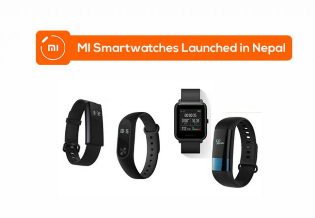 Mi smartwatches price in nepal