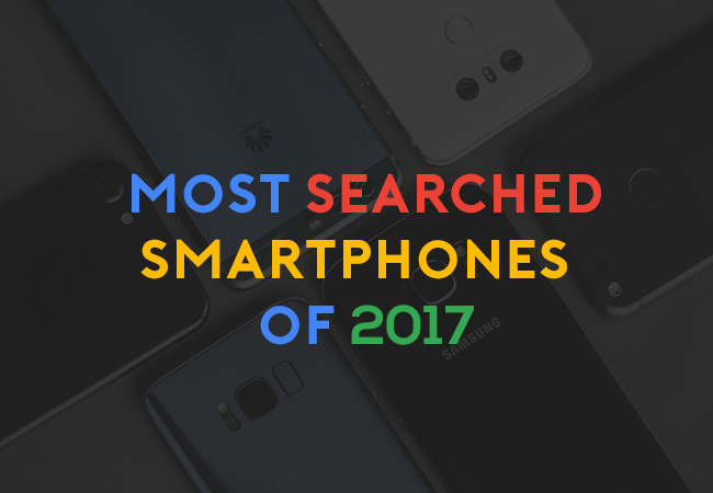 most searched smartphones