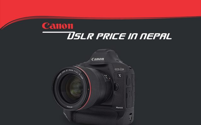 canon camera price in nepal