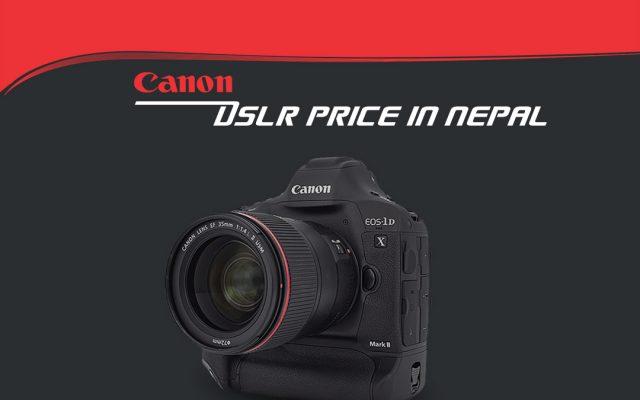 canon camera price in nepal