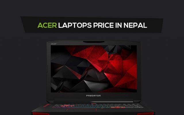 Acer Laptop Price In Nepal