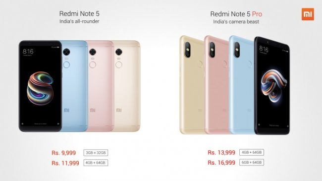 xiaomi redmi note 5 pro price in nepal