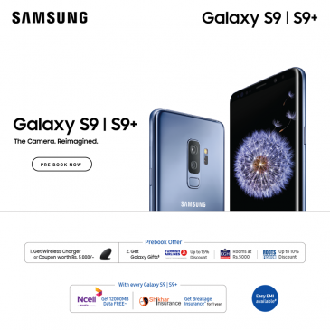 Samsung Galaxy S9 nepal offer
