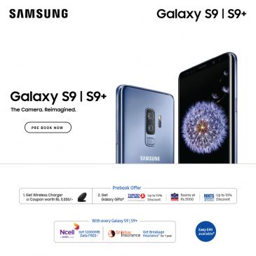 Samsung Galaxy S9 nepal offer