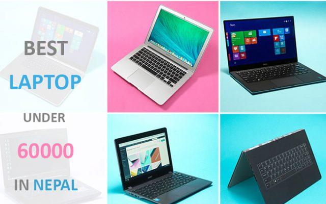 best laptop under 60000 in nepal