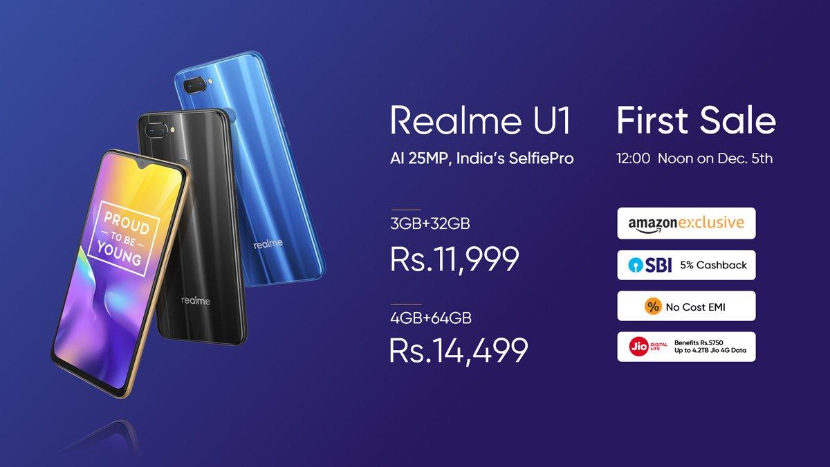 Realme U1 Price in Nepal
