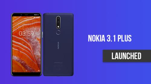 Nokia 3.1 Plus Price In Nepal