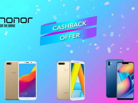 honor cashback offer