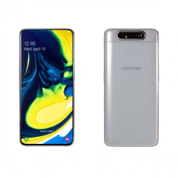 Samsung Galaxy A70 Samsung Galaxy A70 Specs Display:6.7-inch FHD+ Super AMOLED display , 20:9 aspect ratio CPU:Octa-core Snapdragon 675 RAM:6 B DDR4 Internal Storage:128 GB + expandable via microSD card up to 512GB Rear Camera:Triple cameras (32 MP primary camera, f/1.7 + 5 MP depth sensor, f/2.2 + 8 MP wide-angle lens) Front Camera:32 MP, with f/2.0 aperture OS:Android 9.0 Pie with OneUI Battery:4,500mAh with 25W Fast Charging Samsung Galaxy A80