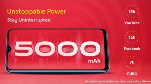 Vivo-U10-battery
